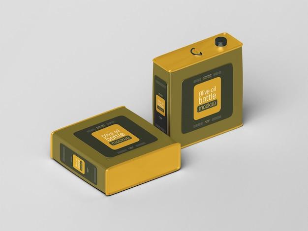 Olivenöl-blechdosen-modell