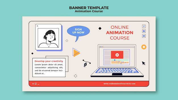 Online-animationskurs-banner