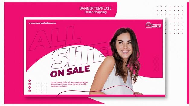 Online-banner-vorlage einkaufen