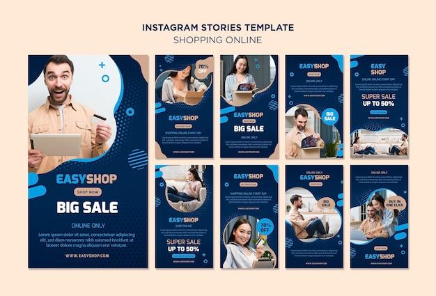 Online-instagram-geschichten einkaufen
