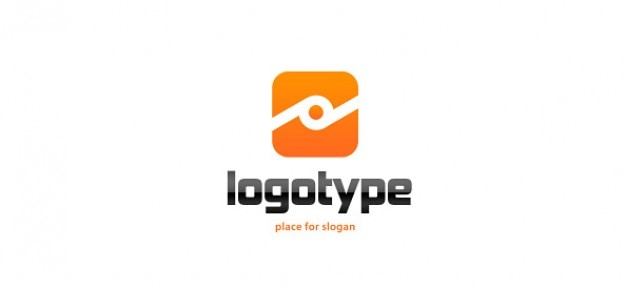 Orange logo-design-vorlage