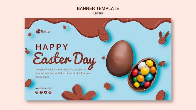 Ostern day sale banner vorlage