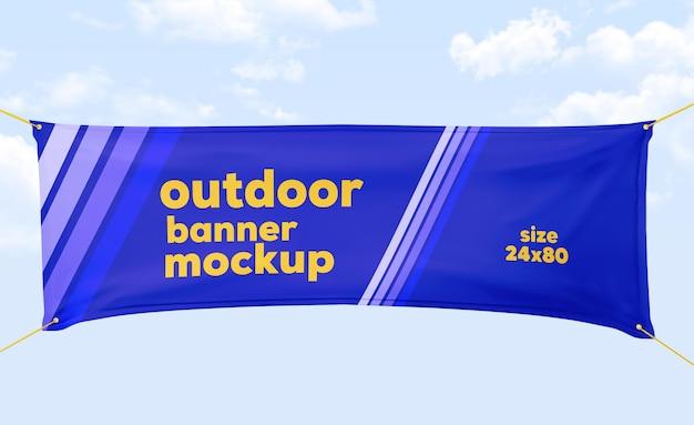 Outdoor-banner-modell