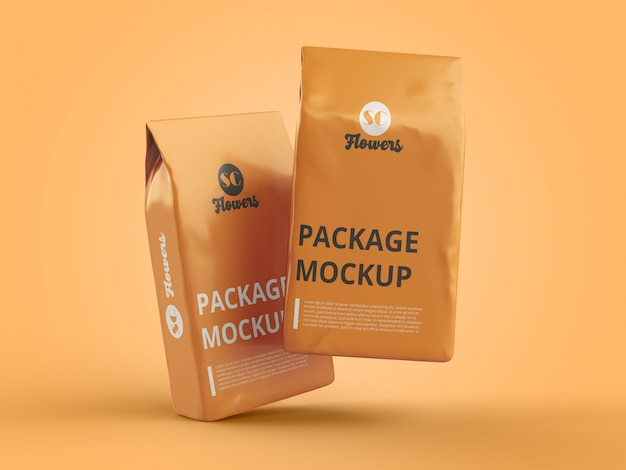 Packing mock-up psd-datei