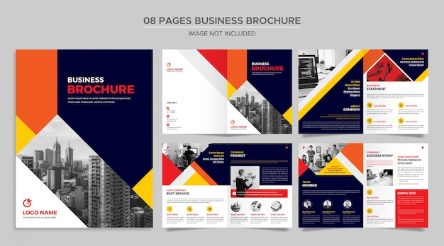 Pages business broschüre
