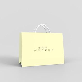 Papiereinkaufstaschenmodell