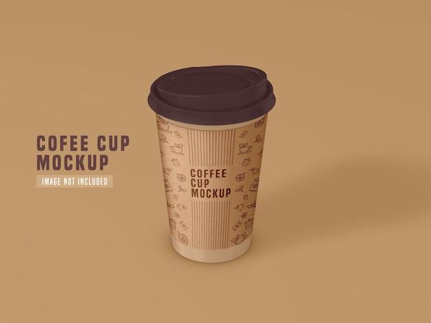 Papierkaffeetasse modell wegnehmen