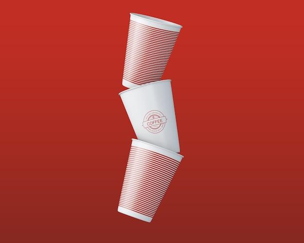 Papierkaffeetasse-modell