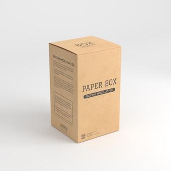 Papierkastenmodell