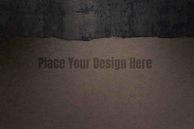 Papiermodell-designhintergrund