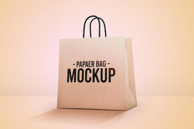 Papiertüte modell