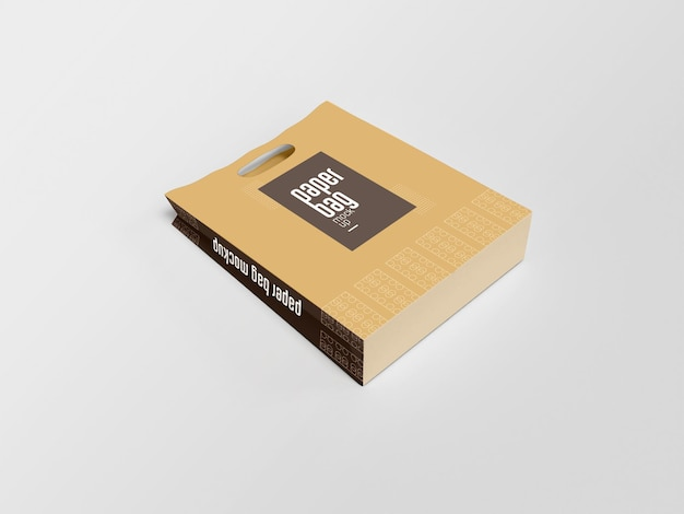 Papiertüten-verpackungsmodell