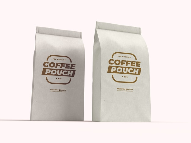 Papiertütenverpackung für kaffeebohnen, trockenfrüchte und andere lebensmittel