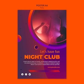 Party poster vorlage