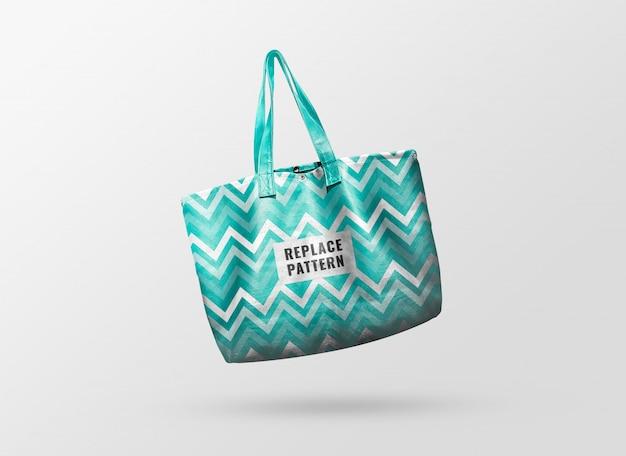 Pastell einkaufstasche muster modell