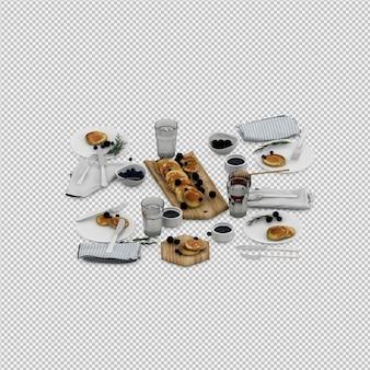 Pfannkuchen 3d übertragen
