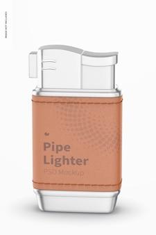 Pfeifenfeuerzeug-modell, vorderansicht