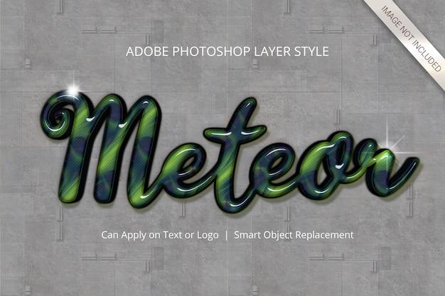 Photoshop-texteffekt-ebenenstil