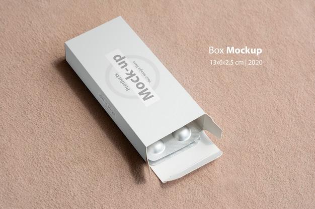 Pillbox-modell mit tablettenbrot