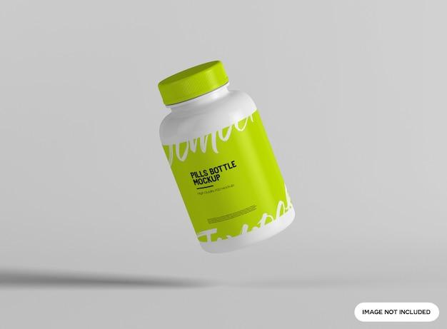 Pillenflaschenmodell