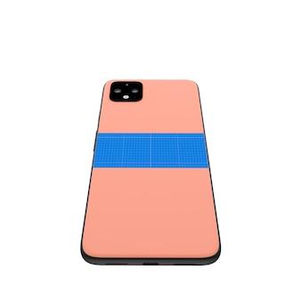 Pink back mobile modell