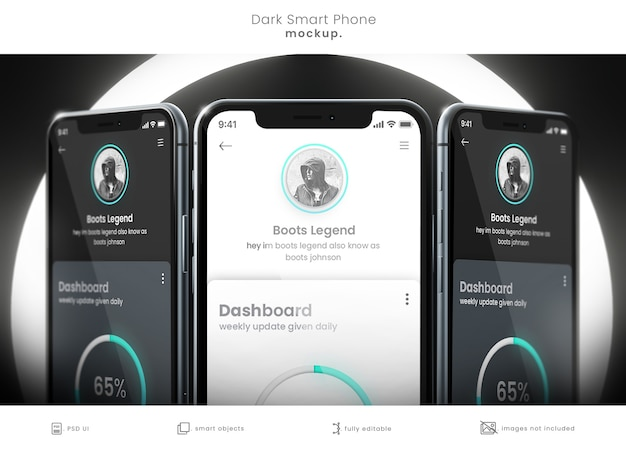 Pixel perfektes smartphone-modell