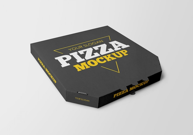 Pizza box modell
