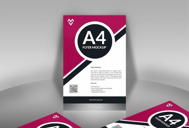 Plakat- / flyer-modelle