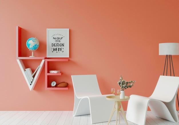 Plakatrahmen im wohnzimmer