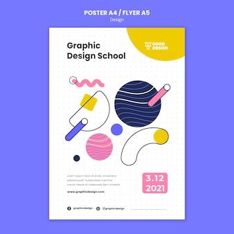 Plakatschablone für grafikdesign Kostenlosen PSD