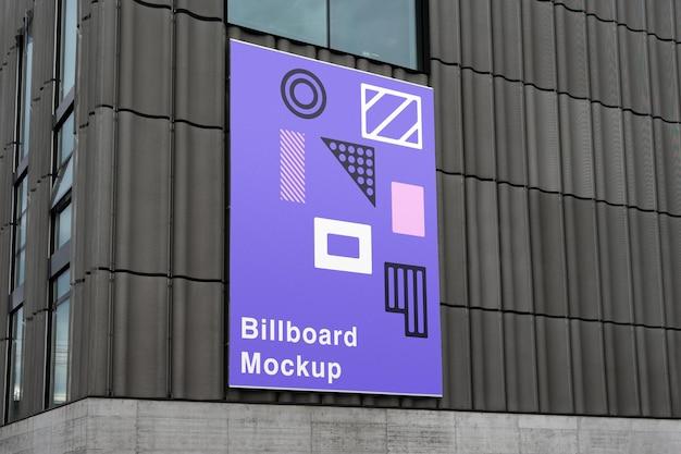 Plakatwand auf wandmodell
