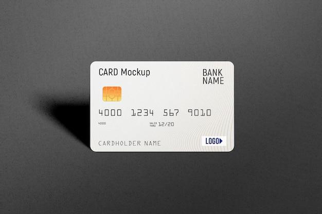 Plastik kreditkarte modell