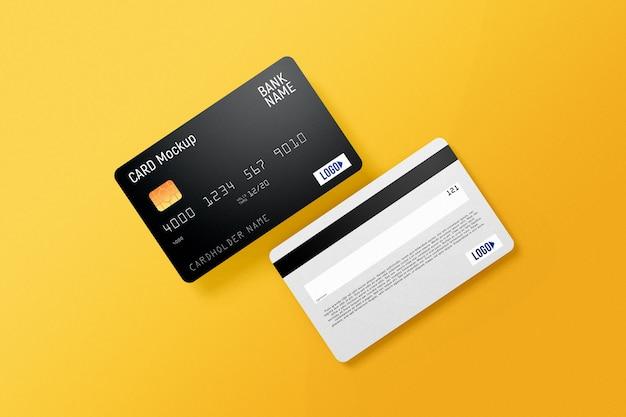Plastik-kreditkartenmodell