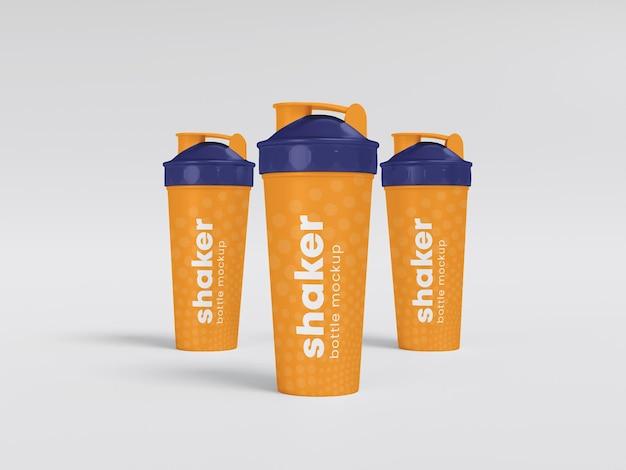 Plastik-shaker-flaschen-modell