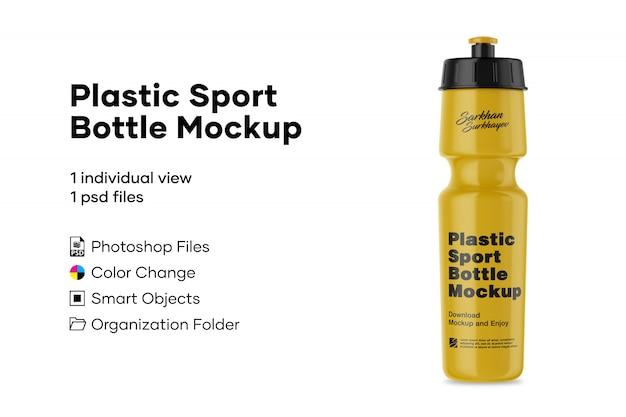 Plastik sportflasche modell