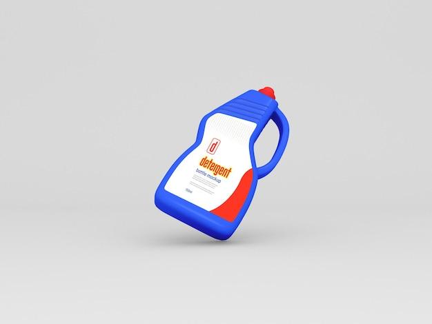 Plastik-waschmittelflaschen-modell