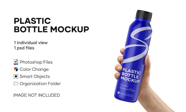 Plastikflasche mockup