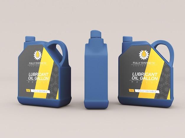 Plastikflaschenverpackungsmodell für motoröl