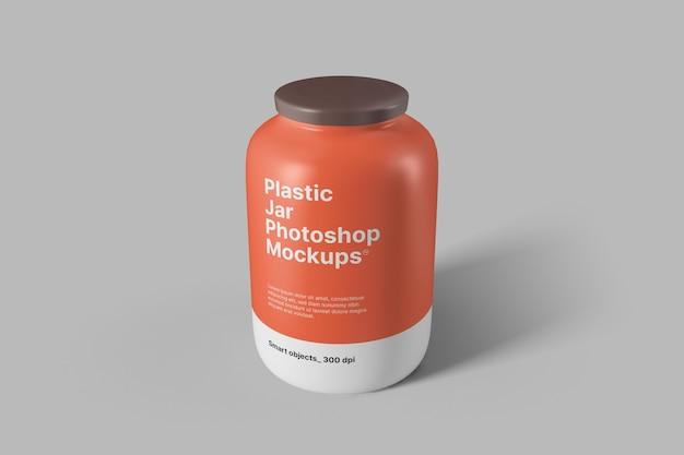 Plastikglas modell
