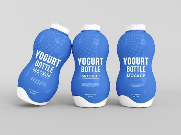 Plastikjoghurtflaschenmodell