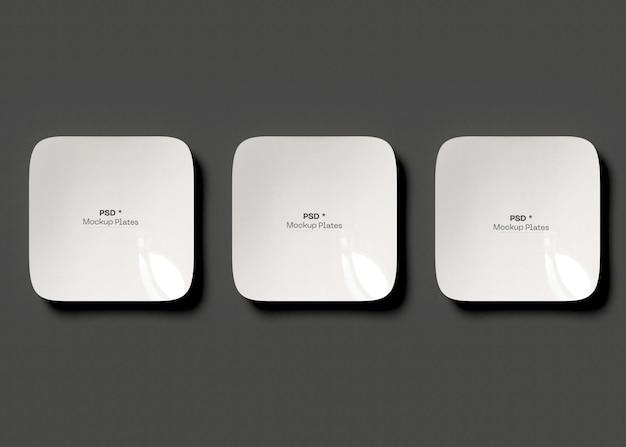 Platten-modell-set