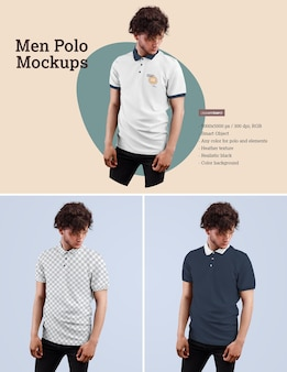Polo-modelle für männer