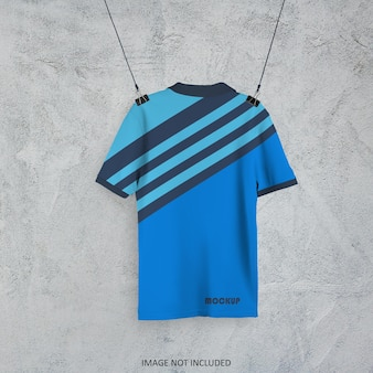 Polo t-shirt mockup design isoliert