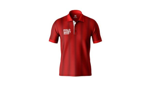 Poloshirt mockup front