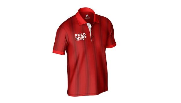 Poloshirt side mockup
