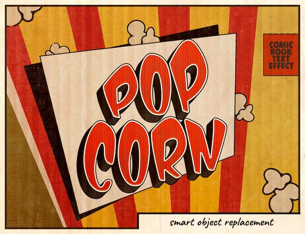 Pop-art-comics-texteffekt