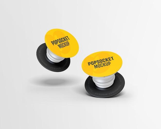 Popsocket-modell isoliert