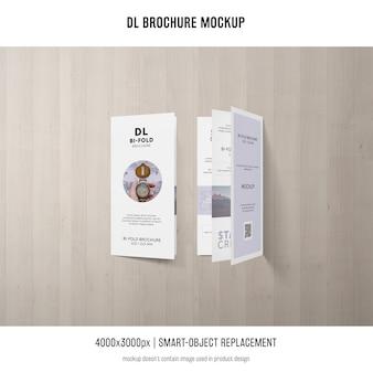 Portrait dl-broschüren-modell