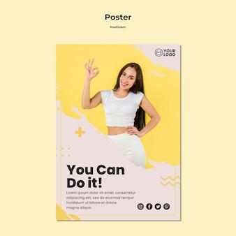 Positivismus vorlage flyer