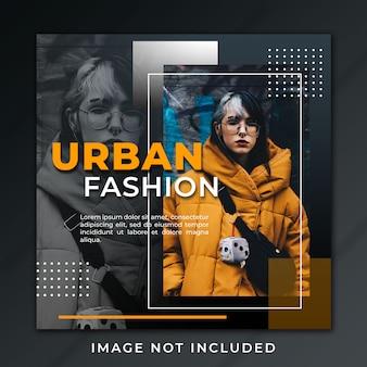 Post-feed urban fashion modernes design